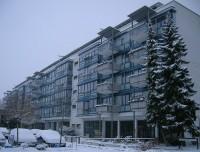 Diakonissenhaus Bethlehem, Karlsruhe  -- im Winter