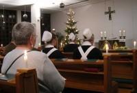 Diakonissenhaus Bethlehem, Karlsruhe -- Weihnachts-Andacht in der Kapelle