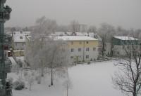 Diakonissenhaus Bethlehem, Karlsruhe  -- Nachbarschaft im Winter